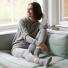 Sunday in Bed Cashmere-Hoody Sascha